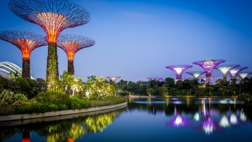 Sights And Scenes Of Beautiful Singapore HD Wallpaper 11