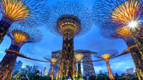 Sights And Scenes Of Beautiful Singapore HD Wallpaper 12
