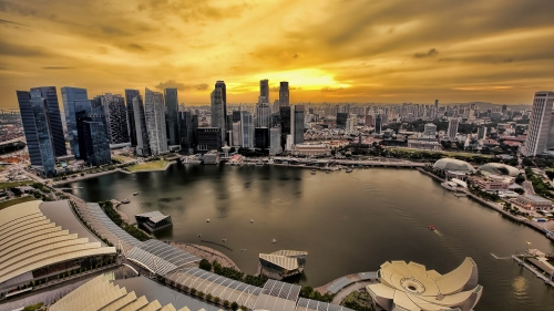 Sights And Scenes Of Beautiful Singapore HD Wallpaper 14