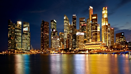 Sights And Scenes Of Beautiful Singapore HD Wallpaper 17