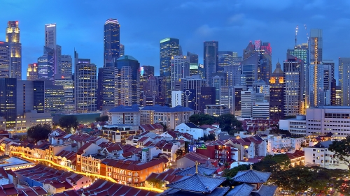 Sights And Scenes Of Beautiful Singapore HD Wallpaper 18