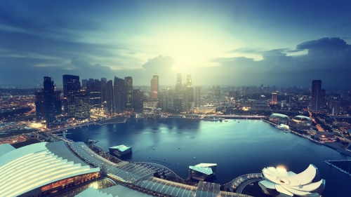 Sights And Scenes Of Beautiful Singapore HD Wallpaper 19
