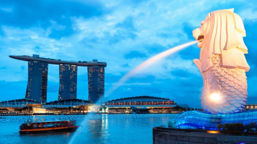 Sights And Scenes Of Beautiful Singapore HD Wallpaper 2