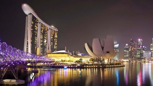 Sights And Scenes Of Beautiful Singapore HD Wallpaper 20