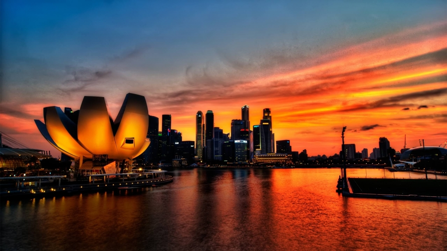 Sights And Scenes Of Beautiful Singapore HD Wallpaper 28