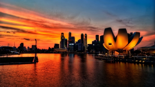 Sights And Scenes Of Beautiful Singapore HD Wallpaper 29
