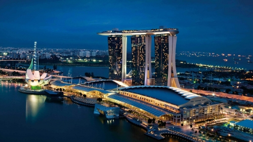 Sights And Scenes Of Beautiful Singapore HD Wallpaper 3