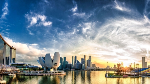 Sights And Scenes Of Beautiful Singapore HD Wallpaper 38