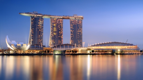 Sights And Scenes Of Beautiful Singapore HD Wallpaper 5