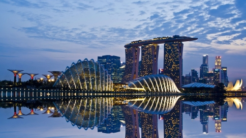 Sights And Scenes Of Beautiful Singapore HD Wallpaper 7