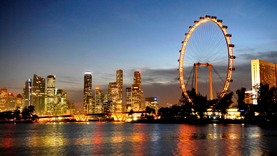 Sights And Scenes Of Beautiful Singapore HD Wallpaper 9