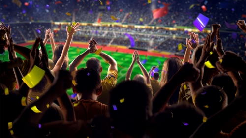 Spectators Roaring Soccer Football Sports QHD Wallpaper