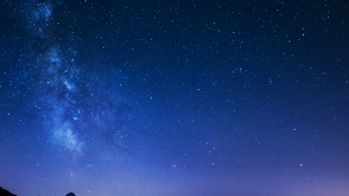 Starry Night Nature QHD Wallpaper 3