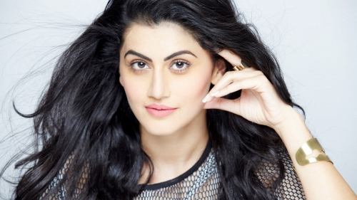 Taapsee Pannu Indian Bollywood Film Actress High Quality Wallpaper