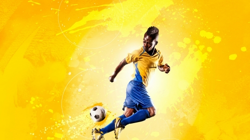 The Kick Soccer Football Sports QHD Wallpaper 2