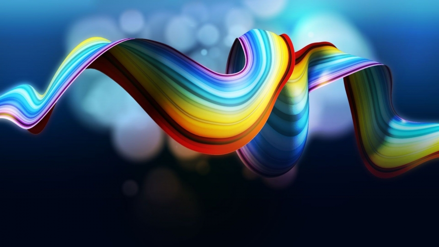 Twisted Rainbow HD Wallpaper