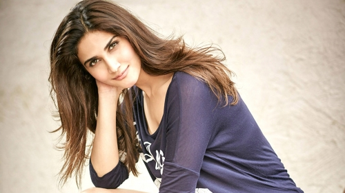 Vaani Kapoor Indian Bollywood Film Actress High Quality Wallpaper